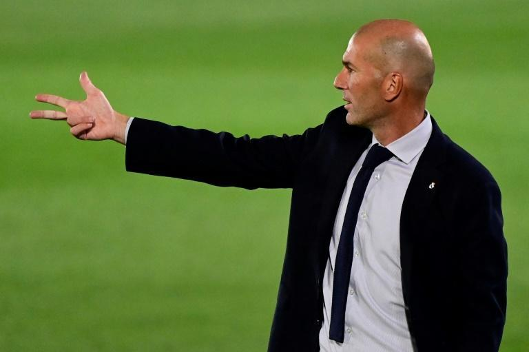 Real Madrid coach Zinedine Zidane has warned his players not to rest on their laurels