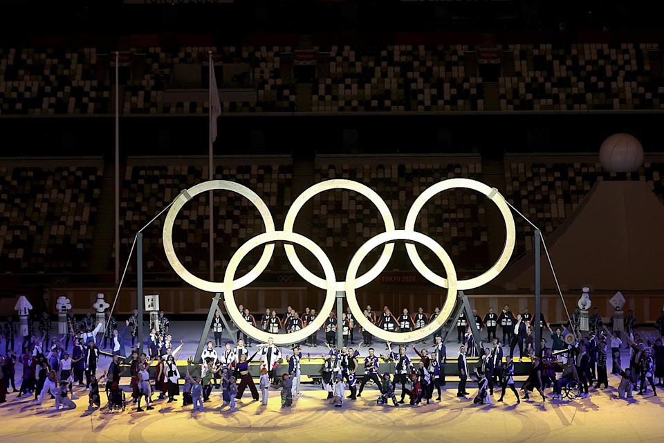<p>It all culminated in a gorgeous set of Olympic rings, made from the lumber of trees that grew from seeds athletes brought from their home countries to the 1964 Tokyo Olympics.</p>