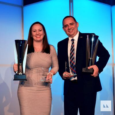 Renee and Scott Comey, broker owners of Motto Mortgage Elite in Snohomish, Washington, won the Motto Mortgage Broker Owners of the Year Award.