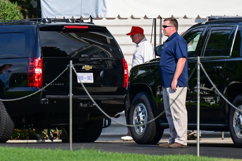 Secret Service Spent $254K at Trump Properties in His First Five Months in Office