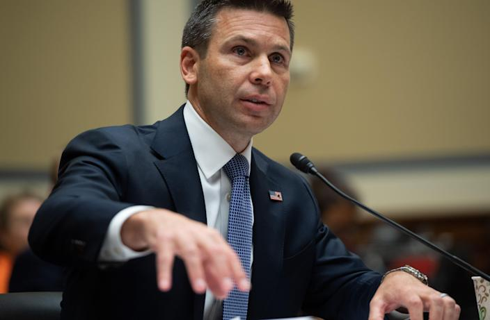 Acting Secretary of Homeland Security Kevin McAleenan. (Photo: Saul Loeb/AFP/Getty Images)
