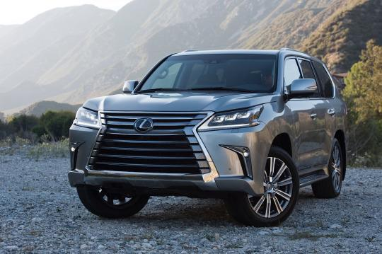 2016 Lexus Lx 570 And Gs Unveil Their Corporate Facelifts In Pebble Beach