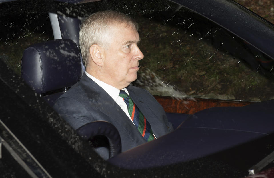 """January 27th 2020 - In a statement today, Geoffrey Berman the United States Attorney for the Southern District of New York said Prince Andrew has provided """"zero cooperation"""" to United States law enforcement agents and investigators who wish to interview him regarding his association with the late millionaire sex offender Jeffrey Epstein. - November 21st 2019 - Prince Andrew The Duke of York steps down from all official royal public duties amid the escalation of his associations in the Jeffrey Epstein scandal. - File Photo by: zz/KGC-492/STAR MAX/IPx 2018 8/12/18 Prince Andrew The Duke of York attends the Sunday Church Service at Crathie Kirk - the regular place of worship of the British Royal Family when they are on holiday at Balmoral Castle. (Crathie, Aberdeenshire, Scotland, UK)"""