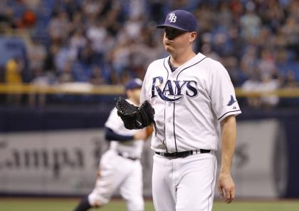 Jake McGee prefers one pitch over any other. (USA TODAY Sports)