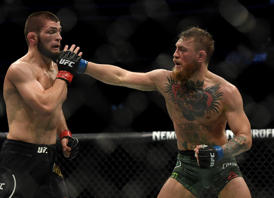 Is a Khabib-McGregor rematch inevitable? (Photo by Hans Gutknecht//Los Angeles Daily News via Getty Images)