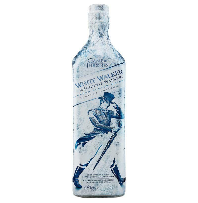 """<p><strong>Johnnie Walker</strong></p><p>drizly.com</p><p><strong>$18.09</strong></p><p><a href=""""https://go.redirectingat.com?id=74968X1596630&url=https%3A%2F%2Fdrizly.com%2Fjohnnie-walker-white-walker-blended-scotch-whisky%2Fp87653&sref=http%3A%2F%2Fwww.esquire.com%2Flifestyle%2Fg23681751%2Ffunny-christmas-gifts-ideas%2F"""" target=""""_blank"""">Buy</a></p><p>Johnnie Walker took advantage of <em>Game of Thrones </em>fandom and made a White Walker scotch.<em> GOT </em>is long gone but scotch just gets better with age.<em></em></p>"""