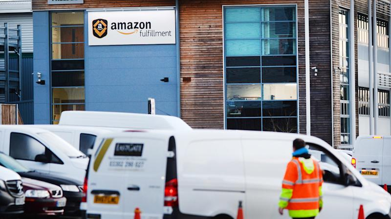 MPs have demanded Amazon investigate reports that drivers delivering its parcels are regularly working shifts of more than 12 hours without a break, forcing some to urinate in bottles.