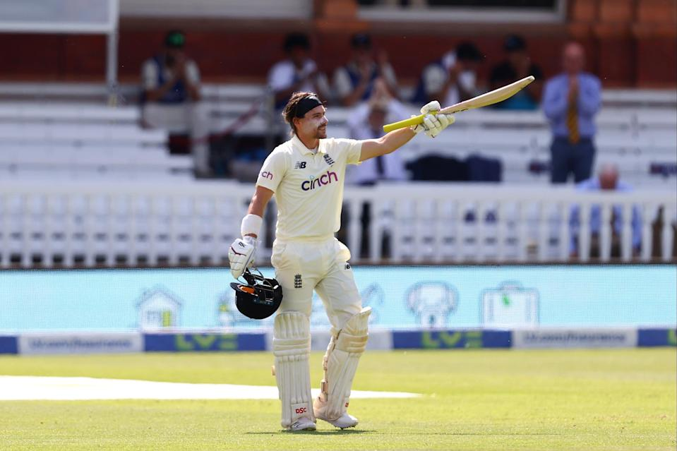 <p>Rory Burns' impressive century helped England rescue a draw against New Zealand at Lord's</p> (Getty Images)