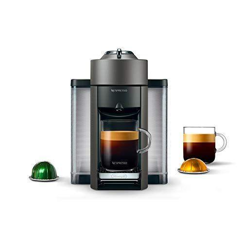 """<p><strong>Nespresso by De'Longhi</strong></p><p>amazon.com</p><p><strong>$189.98</strong></p><p><a href=""""https://www.amazon.com/dp/B074SLKTKW?tag=syn-yahoo-20&ascsubtag=%5Bartid%7C2140.g.19924022%5Bsrc%7Cyahoo-us"""" rel=""""nofollow noopener"""" target=""""_blank"""" data-ylk=""""slk:Shop Now"""" class=""""link rapid-noclick-resp"""">Shop Now</a></p><p>If your dad is like mine, not much happens in the morning before he's had his first cup of coffee. And while overly complicated machines might leave your parents feeling intimidated, this espresso maker simply uses pods. It'll have them making coffee-shop-level drinks in no time.</p>"""