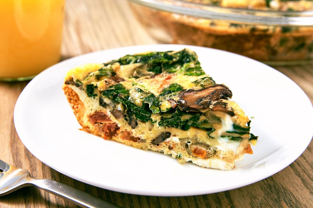 "<p>Eggs are one of those foods we ALWAYS have in our fridge. There are so many ways to eat them—as <a href=""/cooking/g2148/omelet-recipes/"">omelettes</a>, <a href=""/holiday-recipes/easter/g3928/egg-salad-recipes/"">salads</a>, <a href=""/cooking/recipe-ideas/recipes/a45032/eggs-benedict-skillet-casserole-recipe/"">benedicts</a> and more. These are our favorite healthy egg breakfast recipes, from Cauliflower Benedict to Brussels Sprouts Hash. Plus, try all our favorite <a href=""https://www.delish.com/cooking/g1920/egg-dinners/"" target=""_blank"">egg dinner recipes</a> and <a href=""/cooking/nutrition/g1412/quick-healthy-breakfast-recipes/"">healthy breakfast ideas</a>!</p>"
