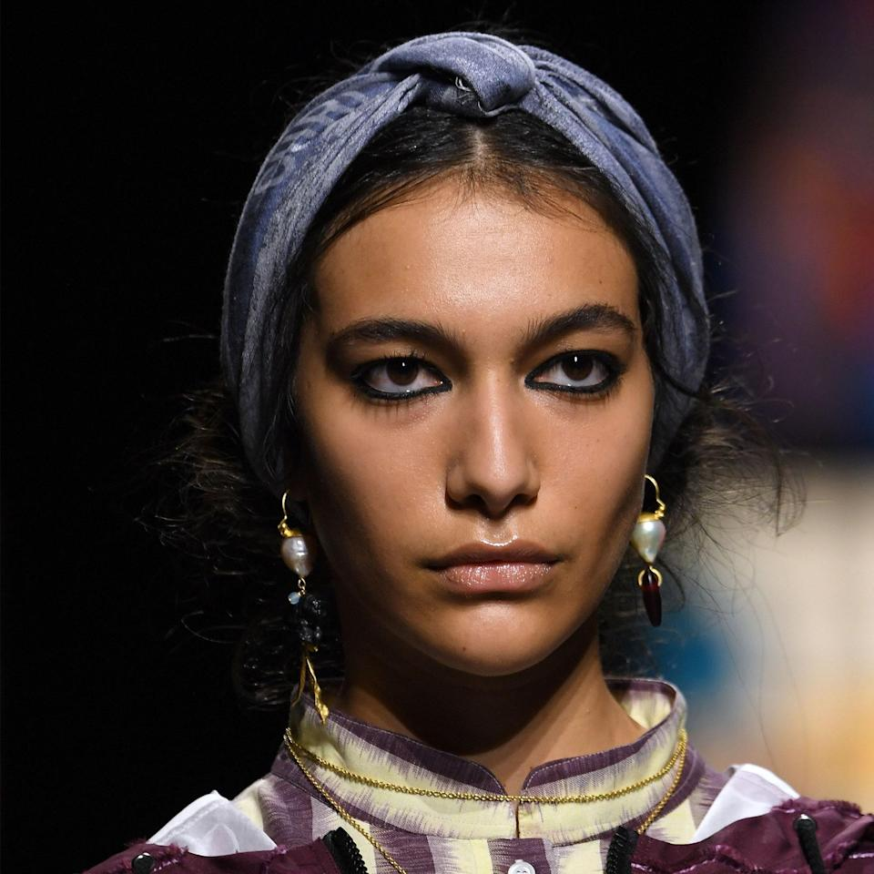 Dior: Thick Liner and Knotted Headbands