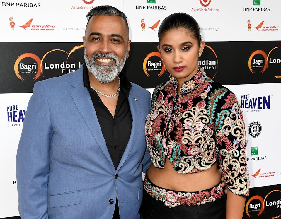 Husband and wife Sunny and Shay Grewal host a show on BBC Radio London. (Getty Images)