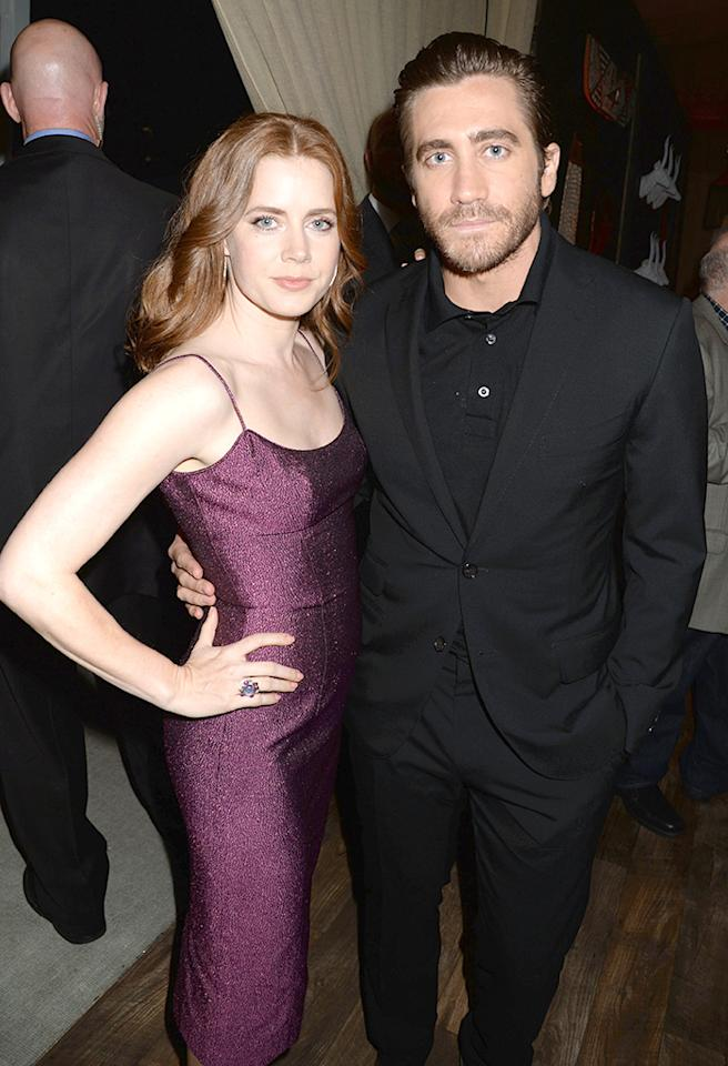 """CULVER CITY, CA - JUNE 08:  Amy Adams (L) and Jake Gyllenhaal attend Spike TV's """"Guys Choice 2013"""" at Sony Pictures Studios on June 8, 2013 in Culver City, California.  (Photo by Jeff Kravitz/FilmMagic)"""