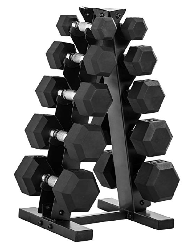 CAP Barbell 150-Pound Dumbbell Set