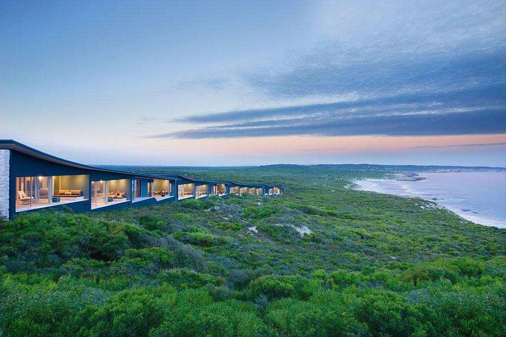 The luxurious Southern Ocean Lodge in Kangaroo Island, hailed as one of earth's last unspoilt refuges.