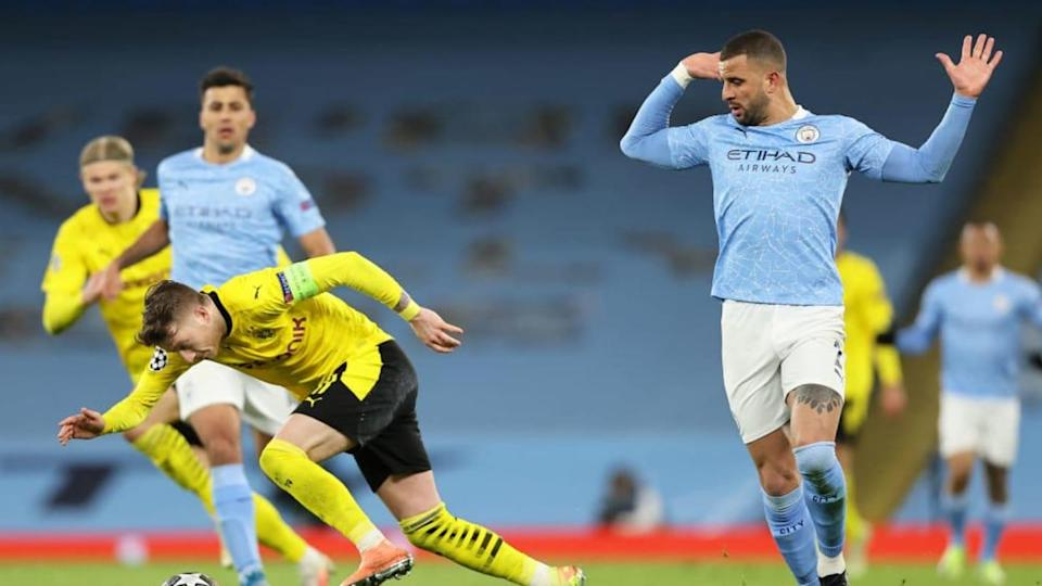 Manchester City v Borussia Dortmund - UEFA Champions League Quarter Final: Leg One | Clive Brunskill/Getty Images