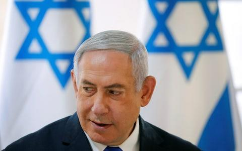 Mr Netanyahu approved the strike in Gaza - Credit: REUTERS/Amir Cohen