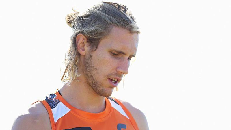 GWS defender Nick Haynes had to be talked into pursuing his AFL dream.
