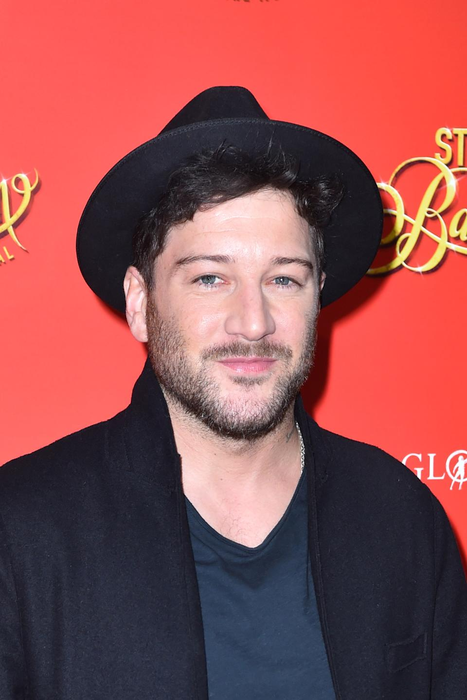 Matt Cardle attending the press night of Strictly Ballroom the Musical, at the Piccadilly Theatre in London. (Photo by Matt Crossick/PA Images via Getty Images)
