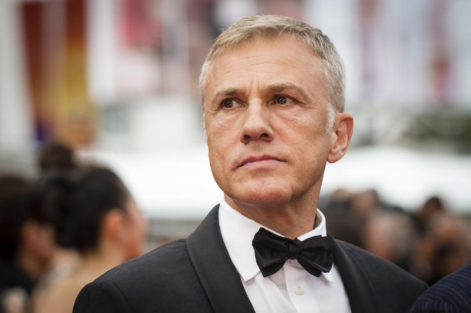 """CANNES, FRANCE - MAY 24: Christoph Waltz attends the screening of """"Sibyl"""" during the 72nd annual Cannes Film Festival on May 24, 2019 in Cannes, France. (Photo by Stephane Cardinale - Corbis/Corbis via Getty Images)"""