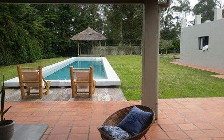 The villa in which Morabito lived with his wife in Uruguay. - Credit: Uruguay interior minister