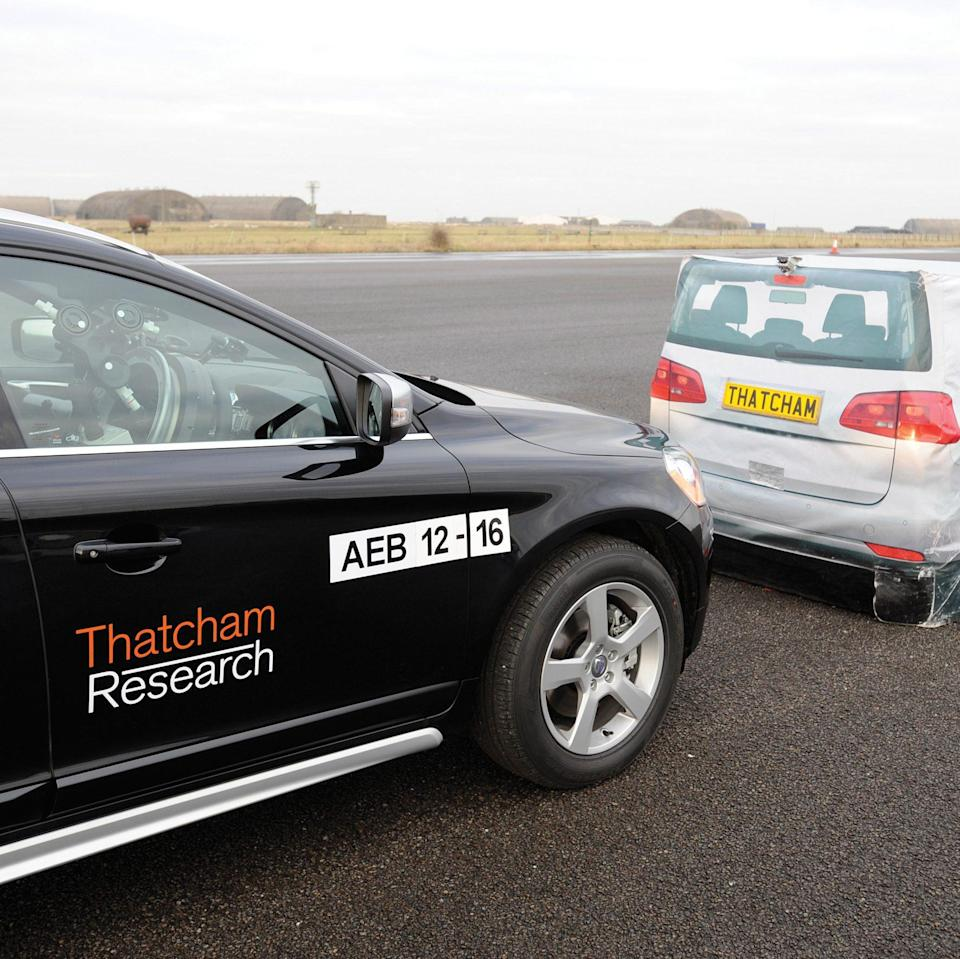 driverless technology test by Thatcham Research