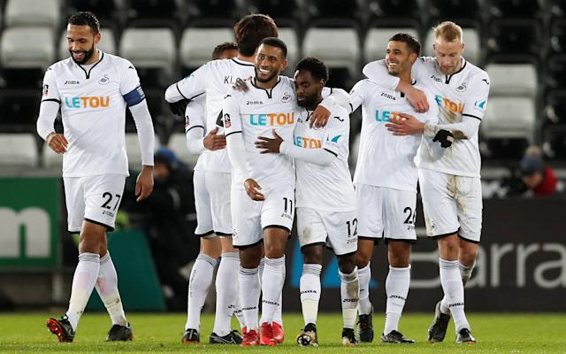 Swansea City 8 Notts County 1: Carlos Carvalhal steels himself for Sheffield Wednesday return after Cup replay rout
