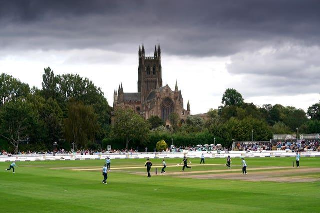 England Women moved 2-0 up in their one-day international series with New Zealand at the scenic New Road venue in Worcester