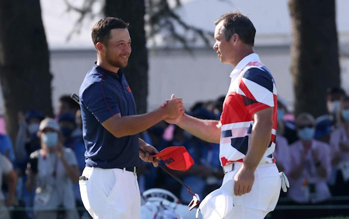 Paul Casey and Rory McIlroy Tokyo 2020 Olympic medal hopes slip away after bizarre seven-way golf play-off - Getty Images