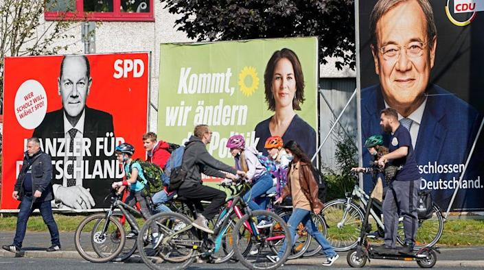 Germany Election (Copyright 2021 The Associated Press. All rights reserved.)