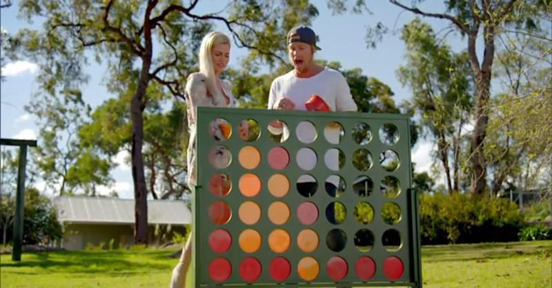 Hey did I ever tell you about the time I played Connect 4 with that girl from Bardot