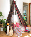 A DIY canopy for lazy days and long reads.