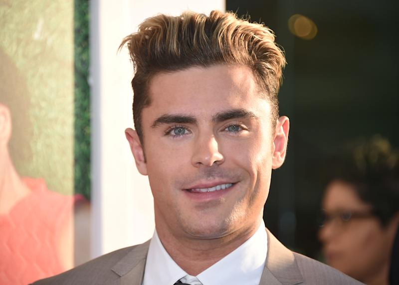 "Cast member Zac Efron attends the premiere of ""Mike and Dave Need Wedding Dates"" in Hollywood, California, U.S. June 29, 2016. REUTERS/Phil McCarten"