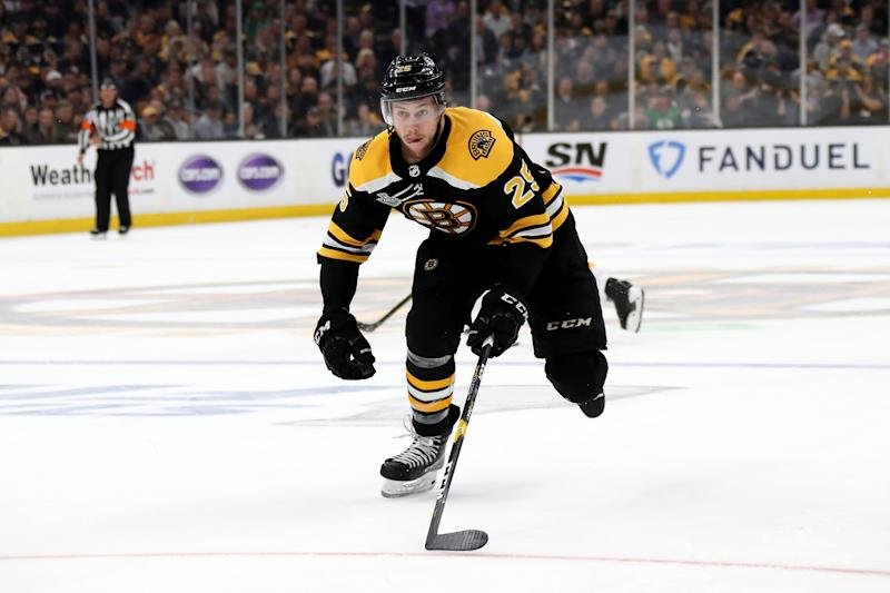 Bruins ink defenseman Brandon Carlo to two-year deal