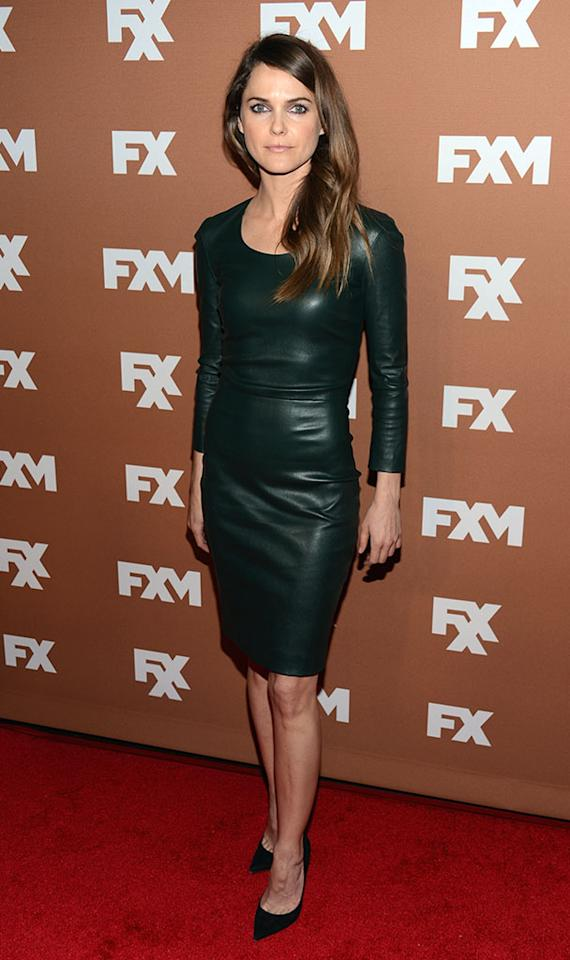Keri Russell attends the 2013 FX Upfront Bowling Event at Luxe at Lucky Strike Lanes on March 28, 2013 in New York City.