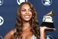 "<p>In 2007, it was ""Deja Vu"" for the star as she took home best contemporary R&B album for <em>B'Day</em>. </p> <p><strong>Beyoncé's Grammy Tally: </strong>10</p>"