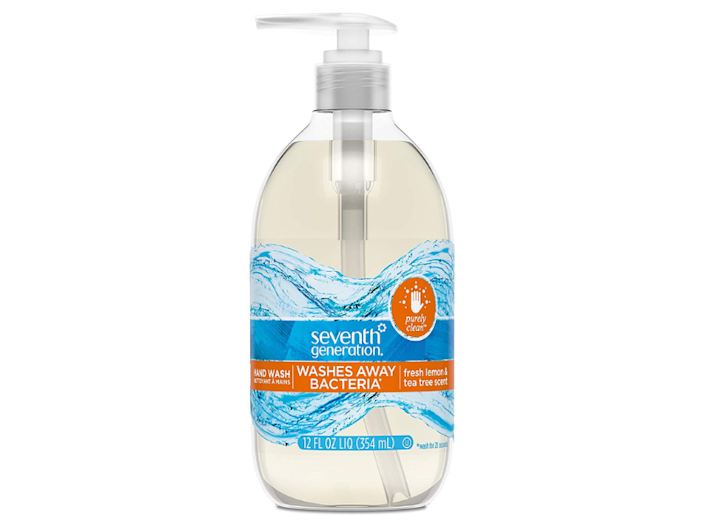 Seventh Generation Purely Clean Hand Wash Soap, Fresh Lemon, 12-ounce (eight-pack). (Photo: Amazon)