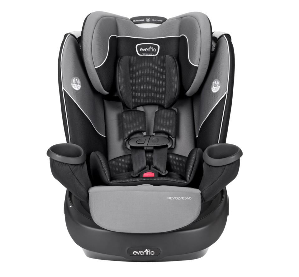 Evenflo Revolve Convertible All-in-One Car Seat (Photo via Best Buy Canada)