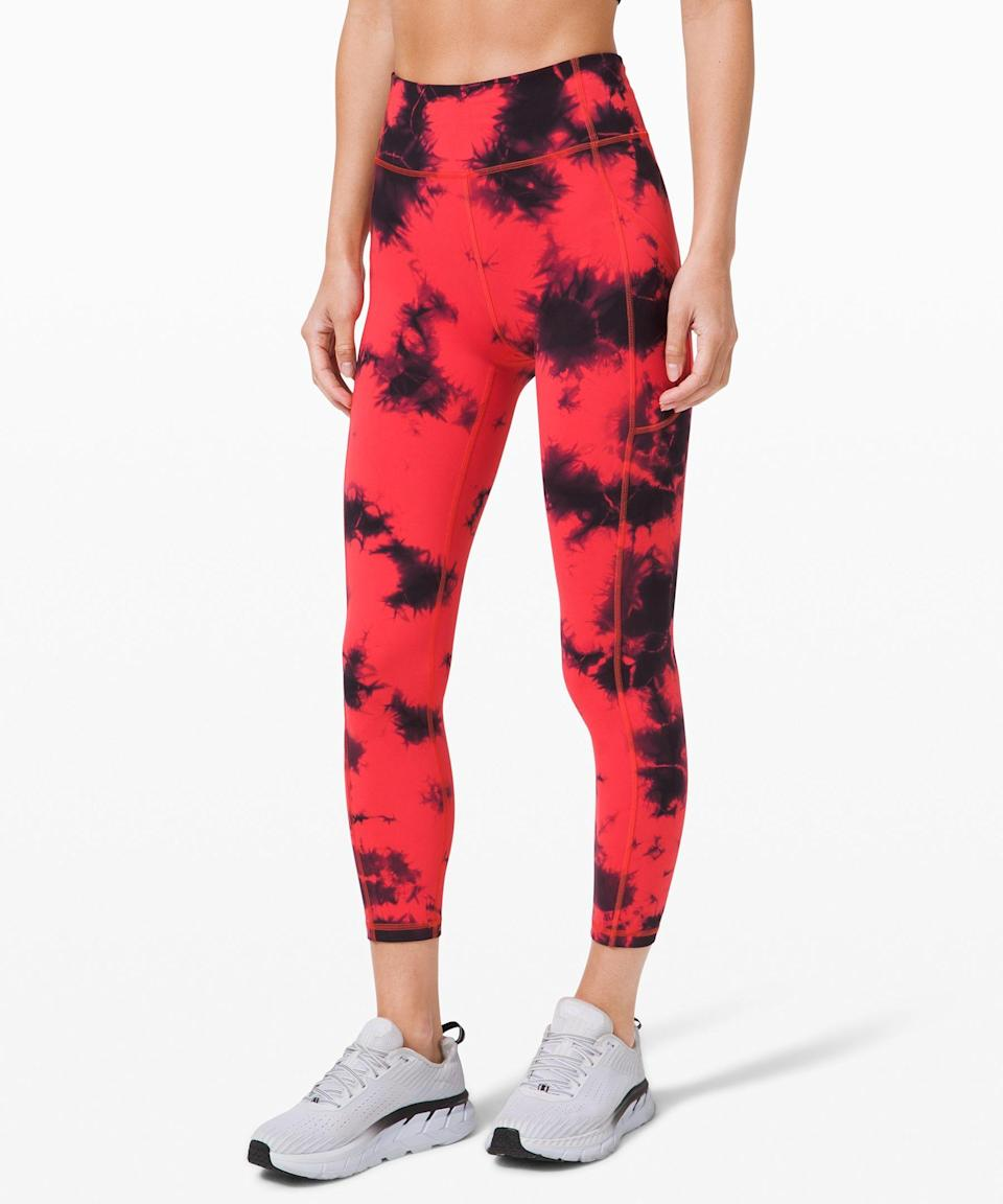 "<p><strong>Lululemon</strong></p><p>lululemon.com</p><p><a href=""https://go.redirectingat.com?id=74968X1596630&url=https%3A%2F%2Fshop.lululemon.com%2Fp%2Fwomens-leggings%2FInvigorate-HR-Tight-25-Wash-MD%2F_%2Fprod10250099&sref=https%3A%2F%2Fwww.seventeen.com%2Ffashion%2Fg34041215%2Flululemon-black-friday-deals-2020%2F"" rel=""nofollow noopener"" target=""_blank"" data-ylk=""slk:Shop Now"" class=""link rapid-noclick-resp"">Shop Now</a></p><p><strong><del>$128</del> $99 (23% off)</strong></p><p>You definitely don't need another pair of leggings... but you could definitely use a pair of <em>tie-dye</em> leggings.</p>"