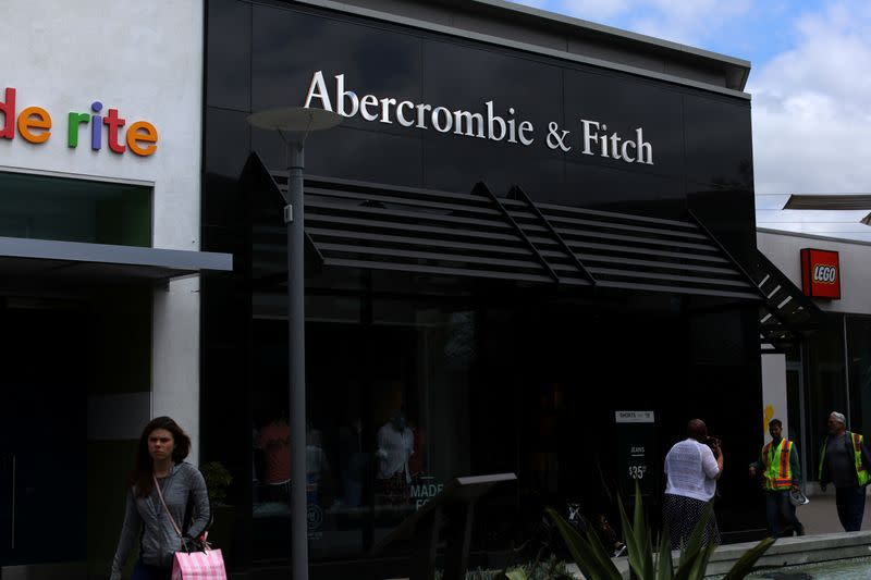 FILE PHOTO: An Abercrombie & Fitch store is shown in La Jolla, California,