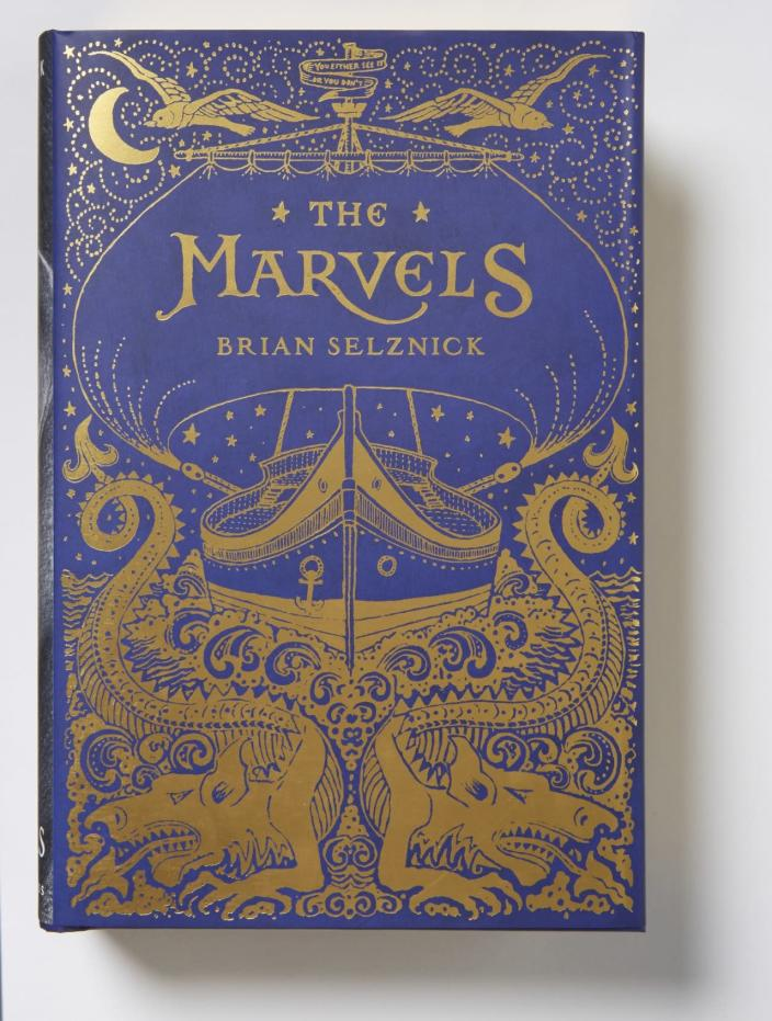 """<p>A 672-page tome with two connected stories — one told in pictures, the other in prose — from the beloved author of <i>The Invention of Hugo Cabret. </i><a href=""""http://www.amazon.com/Marvels-Brian-Selznick/dp/0545448689/ref=sr_1_1?s=books&ie=UTF8&qid=1446749620&sr=1-1&keywords=the+marvels"""" rel=""""nofollow noopener"""" target=""""_blank"""" data-ylk=""""slk:Buy"""" class=""""link rapid-noclick-resp"""">Buy</a> for kids ages 8 and up. <i>(Photo: Scholastic Press)</i></p>"""