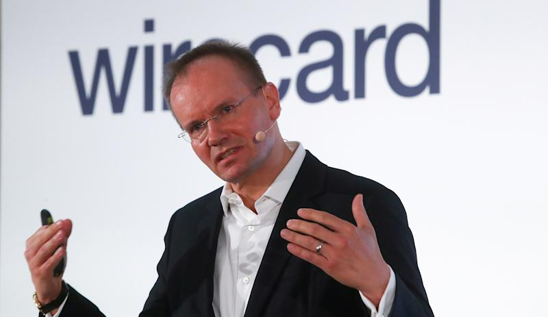 Markus Braun, CEO of Wirecard AG, an independent provider of outsourcing and white label solutions for electronic payment transactions attends the company's annual news conference in Aschheim near Munich, Germany April 25, 2019. REUTERS/Michael Dalder