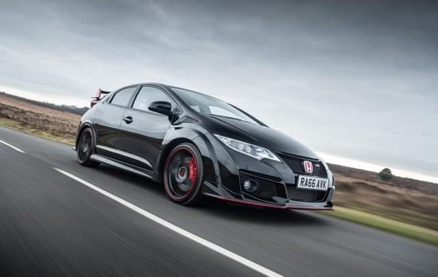 United Kingdom  fans can snatch the Honda Civic Type R Black Edition