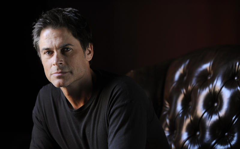 """Rob Lowe, a cast member in """"I Melt with You,"""" poses for a portrait during the 2011 Sundance Film Festival in Park City, Utah, Wednesday, Jan. 26, 2011. (AP Photo/Chris Pizzello)"""