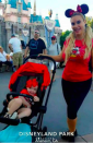 "<p>The bathing suit model brought her wee one, Chanel, to Disneyland for the first time. ""We didnt get to meet Mickey Mouse,"" noted mama, who added that the not yet 2-year-old's consolation was to get to drink some of her soda. We wonder if the tot slept that night. (Photo: <a href=""https://www.instagram.com/p/BX3-FIeFeAh/?hl=en&taken-by=coco"" rel=""nofollow noopener"" target=""_blank"" data-ylk=""slk:Coco Austin via Instagram"" class=""link rapid-noclick-resp"">Coco Austin via Instagram</a>)<br><br></p>"