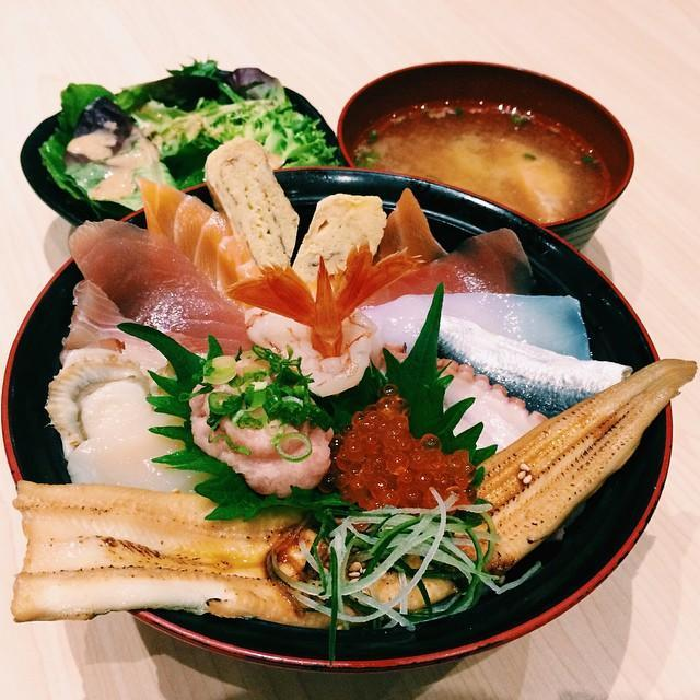 For Sashimi and More in your Chirashi