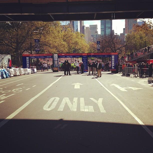 We made it to the finish ... Again! #unofficial #nycmarathon
