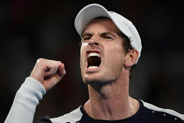 While in China, Murray made the quarter-finals of a tournament for the first time in a year (AFP Photo/SAEED KHAN)
