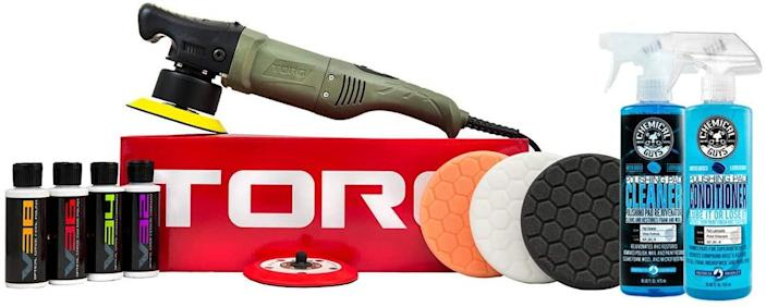 Chemical Guys Random Orbital Polisher Kit (Photo: Amazon)