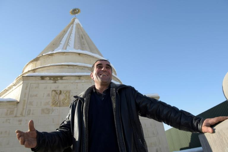 Misha Davrshyan hopes that the construction of Armenia's second Yazidi temple will encourage the return of some of the religion's diaspora to return